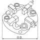Щёточный узел стартера AS SBH3016(VALEO)